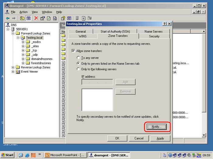 Configuring DNS Zones in Windows Server 2012 - MCSE/MCSA