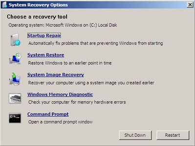 70 680 study guide configure backup rh mcmcse com HP Recovery DVD Label Damaged CD Recovery